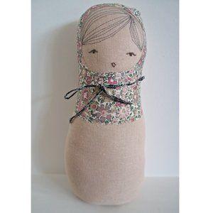 H Luv Handmade Cotton Matryoshka Girl Plush Doll